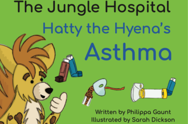 Hatty the Hyena book.