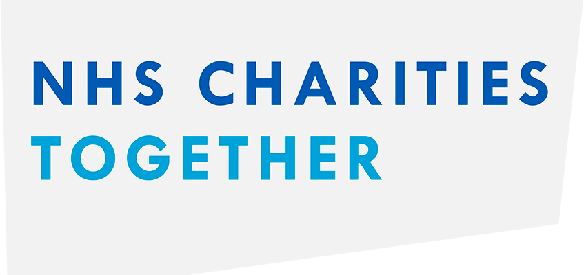 NHS Charities Together logo.