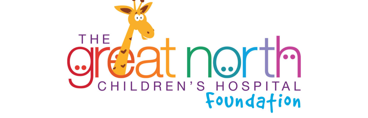 The Great North Childrens Hospital Foundation logo.